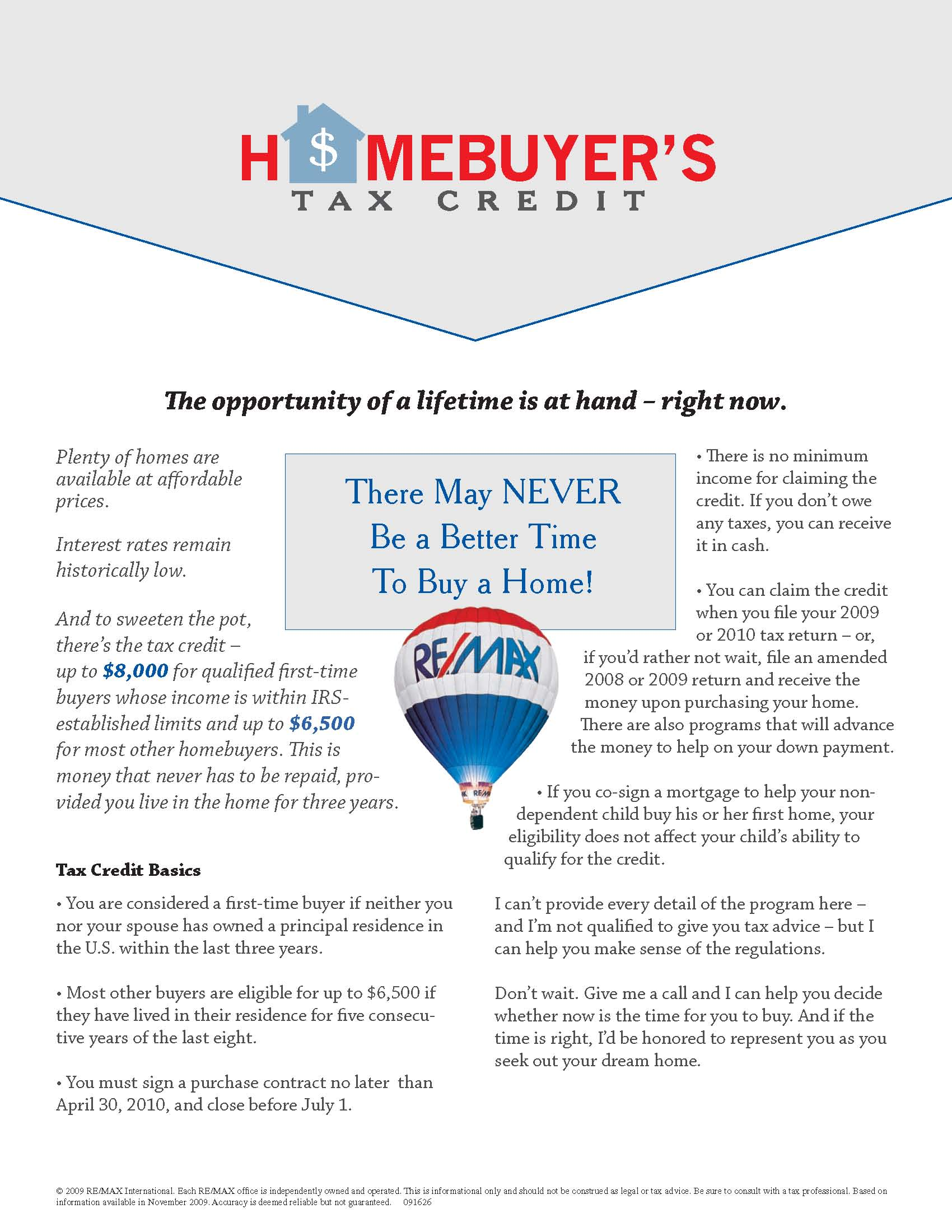 There May NEVER Be a Better Time to BUY A HOME!